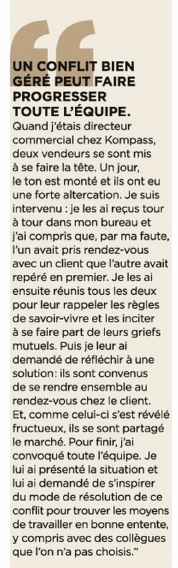 Extrait magazine Management octobre 2014