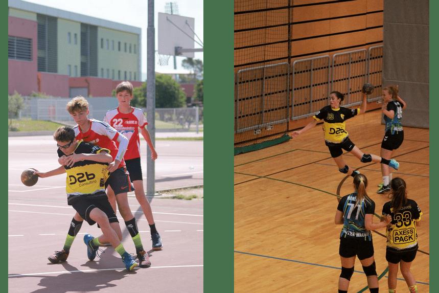 équipe D2b Consulting handball UODL