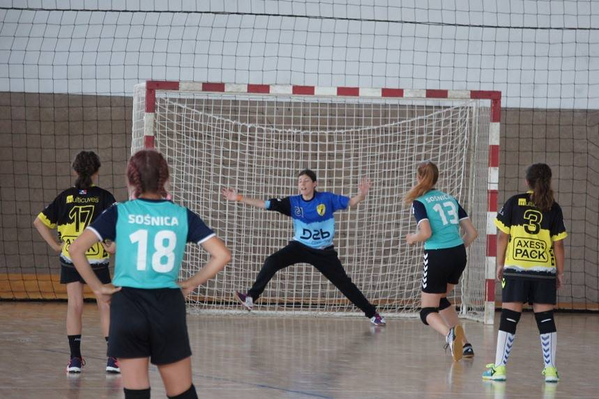 équipe UODL handball 2005 Fille