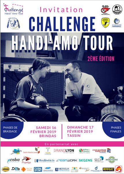 Handi'Amo Tour Lyon Tassin-la-Demi-Lune et Brindas